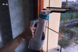 ACTOPP Lavavetri Elettrico Aspiragocce per Finestra