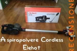 Aspirapolvere cordless Elehot