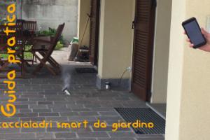 Sistema di allarme fai da te smart da giardino, terrazzo e balcone