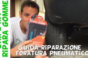 Guida riparazione professionale pneumatico gomma auto moto