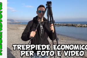 Treppiedi fotografico economico ESDDI