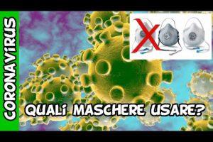 coronavirus che mascherina utilizzare?