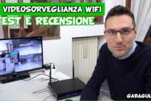 kit videosorveglianza wifi professionale con NVR e hard disk