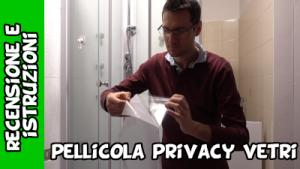 pellicola per vetri e finestre autoadesiva a tutela della privacy