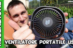 ventilatore portatile usb