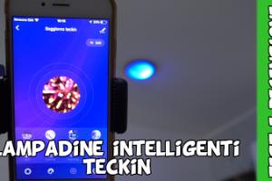 Lampadine intelligenti smart wifi TECKIN compatibili con Amazon Alexa e Google Assistant