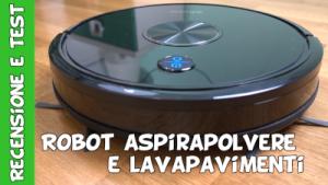Robot aspirapolvere e lavapavimenti Amazon Ultenic D5S