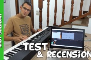 Tastiera elettronica pianoforte digitale Souidmy recensione unboxing e test