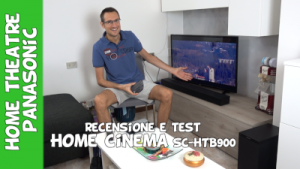 Recensione e test Panasonic home cinema SC-HTB900