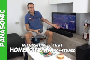 Recensione e test Panasonic home cinema SC-HTB900