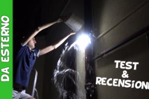 Faretti solari led da esterno test e recensione
