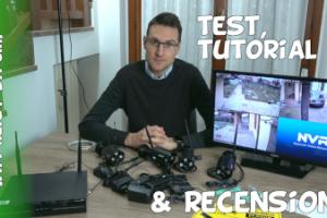 Recensione impianto di videosorveglianza Amazon Reigy CCTV wi-fi
