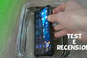 Recensione smartphone economico indistruttibile subacqueo Umidigi Bison