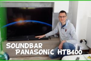 Recensione soundbar Panasonic HTB400