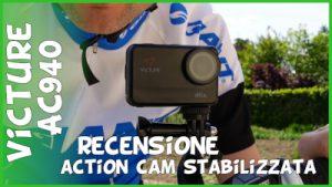 Recensione action cam 4k 60fps stabilizzata Victure AC940