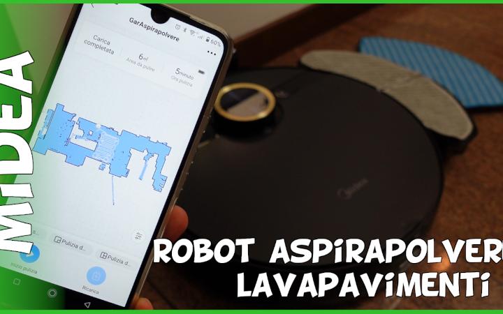 Recensione robot aspirapolvere lavapavimenti Midea con mappatura e spazzola motorizzata