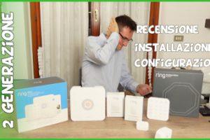 Recensione impianto antifurto domestico Ring Alarm con installazione fai da te