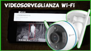 Recensione test e prova telecamera videosorveglianza wifi Ezviz CTQ3N