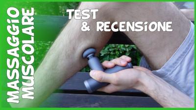 Mini pistola per il massaggio muscolare economica Aliexpress YUNMAI test prova e recensione