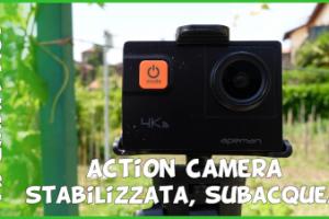 Recensione action cam apeman A87