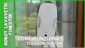 Come funziona un robot lavavetri. Recensione robot lavavetri finestre senza filo intelligente a batteria automatico.